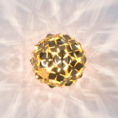General lighting-Light objects-Wall-mounted lights-Orten'zia Very Very Gold-Terzani