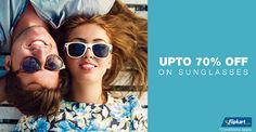Beat the sunlight this summer! Get up to 70% off of sunglasses... shop for Rs.1,295 or more and get an EXTRA 20-30% off!. Stay tuned .. http://bit.ly/Rt5eo3