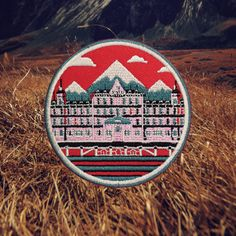 Grand Budapest Hotel - Wes Anderson Patch (Free Shipping US)