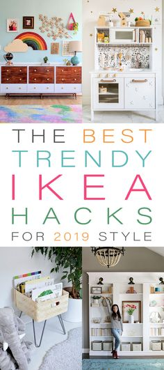 The Best Trendy IKEA Hacks for 2019 Style! You have to see these unbelievable b. - Ikea DIY - The best IKEA hacks all in one place Ikea Hacks, Ikea Furniture Hacks, Diy Hacks, Furniture Plans, Bedroom Hacks, Ikea Bedroom, Ikea Closet Hack, Diy Hanging Shelves, Ikea Malm