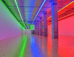 Dan Flavin. http://#art, http://#modernart, http://#geometry, http://#abstractart