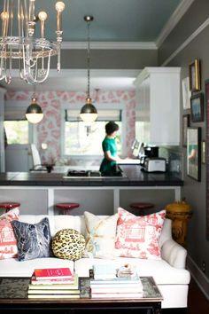 Cómo decorar un piso de soltera al estilo Boho Chic - http://decoracion2.com/como-decorar-un-piso-de-soltera-al-estilo-boho-chic/61910/ #BohoDecoChic, #ComoDecorar, #ConsejosEstiloBoho, #DecorarEstiloBoho, #DecorarPisoSoltera, #EstiloVintage
