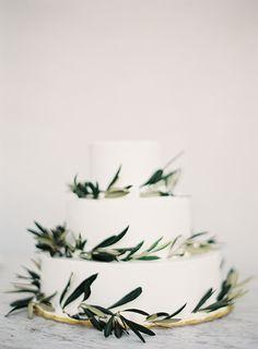Simple and Stylish Wedding in Santorini