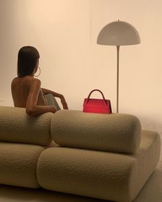 Editorial, Table Lamp, Chair, Inspiration, Furniture, Home Decor, Style, Pretty Girls, Naked