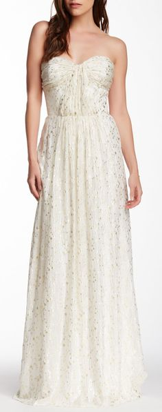 Loving the details in this silk gown ==