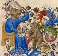 Presentation in the Temple (detail), from a Book of Hours, Spitz Master, about 1420. J. Paul Getty Museum