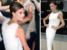 #Victoria_Beckham's first job was to #roller_skate in a #sperm_costume for a #BBC_TV_Show!