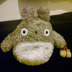 """Found on 25/12/2014 @ Toronto Pearson International Airport. Totoro plushie / """"teddy bear"""" found at Toronto Pearson International Airport. Would love to get it back to its rightful owner. Visit: https://whiteboomerang.com/lostteddy/msg/mgumda (Posted by Leo on 27/12/2014)"""