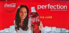 Coca-Cola Advertisements   ENGLISH SPANISH COCA-COLA AD SIGN Forest Park Georgia, Senorita ...