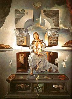 """The Madonna of Port Lligat"" by Salvador Dali"