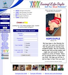SwingLifeStyle - The Best Place to Look for Swinger Parties -