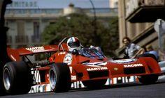 Tecno PA123 Chris Amon 1973  M o n a c o  GP