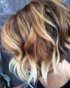 Hair Color Ideas for Short Hairstyles for Fall/Winter 2017 - 2018 Trendy