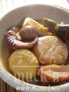 減肥食譜,日本料理-冬天必須料理!! 簡單關東煮,年菜食譜
