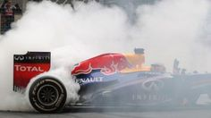 Top 5 Moments of F1 2013 - Vettel's donuts at India, Abu Dhabi and the USA Grand Prix. #FormulaOne #SebastianVettel #RedBullRenault #Donuts https://www.creditplus.co.uk/blog/f1-2013-favourite-moments-expect-next-year-6987607/