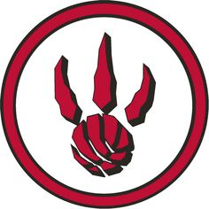 Toronto Raptors Alternate Logo 2009-2012
