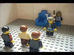 Lego Shadrach, Meshach and Abednego youtube video