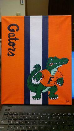 Florida Gators painting