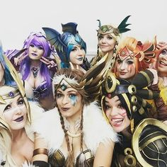 Repost from @jessicanigri ALL THE EEVEE BAES!! COSPLAYERS: Eevee: Becka Noel Leafeon: Lyz Brickley Espeon - Danielle Beaulieu Jolteon - Jessica Nigri Flareon - Joanna Mari Cosplay Vaporeon - Andy Rae Cosplay Umbreon - Hooked On Phoenix Cosplay Glaceon - Caroline Dawe Art & Cosplay Sylveon - Gladzy Kei Art & Cosplay CONCEPT ART TEAM: Initial Sketches by Becka Noel Digital Coloring by Gladzy Kei Art & Cosplay Weapons Design by Zach Fischer Illustration ____________________ #katsucon…