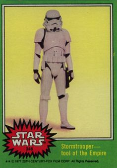 STAR WARS Series 1 (1977) Trading Card - Google Search
