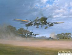 """""""Striking Back"""" by Gerald Coulson  (Hawker Typhoon)"""