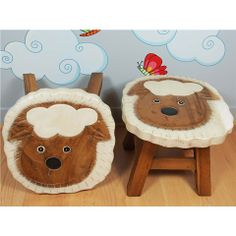 Kid's Collection Pair of Sheep Stools - Beyond the Rack