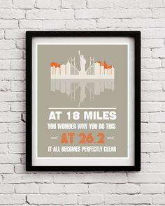 New York Marathon Poster Set, Marathon Poster, Running Poster, Marathon, New York, Runner Poster, Motivational Sport Poster, Sport Quote,Run by BlackPelican