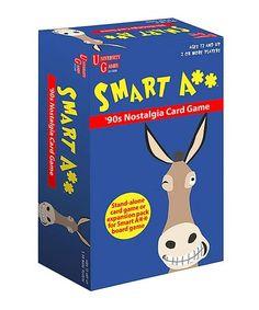 Love this Smart A** 90's Nostalgia Card Game on #zulily! #zulilyfinds