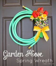 Adult Earth Day projects= recycle your garden hose