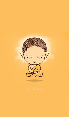 Cute Child Buddha in Levitation Meditation on BehanceClick the link now to find the center in you with our amazing selections of items ranging from yoga apparel to meditation space decor! Buddha Drawing, Buddha Painting, Drawing Drawing, Krishna Painting, Buddha Doodle, Buddha Art, Buddha Peace, Baby Buddha, Little Buddha