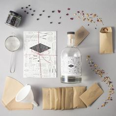 Kitchen Provisions bespoke blend gin kit