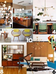 Interieurtrend: Mid-Century Modern - Residence