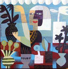 Hilke Macintyre - Flower Seller.