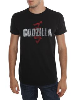 Black T-shirt with teaser art from 2014's Godzilla.Hot Topic exclusive! I'm going to buy one!!