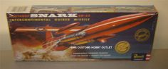 Revell Authentics Model Kit 85-7810 Northrop SNARK SM-62 GUIDED MISSILE 1/81 SSP picclick.com