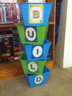 From One Teacher to Another: Build - Math Centers