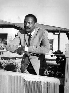1975: After his release from Robben Island, Robert Sobukwe was banished to house arrest in No.6 Naledi Street in Galeshewe...