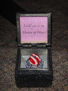 Bridesmaids invitation