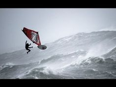 10 of the world's best windsurfers from eight countries completed a demanding competition in Kerry, Ireland during the first mission of the Red Bull Storm Chase - the most-challenging windsurfing contest of all time. Despite recorded storm-force gusts of up to 74 knots (137kmh) and fierce 20-ft waves, the sailors completed three rounds of comp... @ondermonder