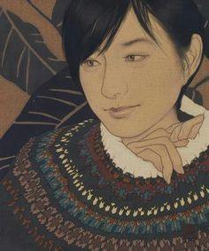 Ikenaga Yasunari - Japanese Illustration - Modern Nihonga Style