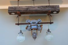Myers barn trolley light by MatzkeDesigns on Etsy