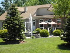 The Blue Fountain Restaurant  near Fishkill Plains. Great reception space for an intimate wedding.