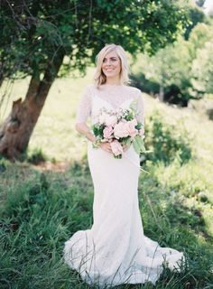 Bride and floral inspiration: http://www.stylemepretty.com/little-black-book-blog/2015/02/11/vibrant-springtime-floral-inspiration/ | Photography: Heather Payne - http://www.heatherpaynephotography.com/