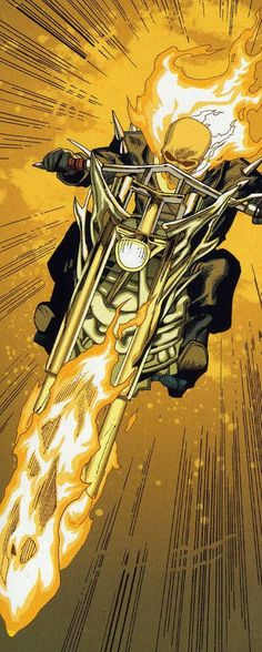 Ghost Rider (Blaze) screenshots, images and pictures - Comic Vine