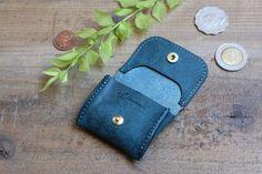 Tiny Coin Case / BLUE GREEN