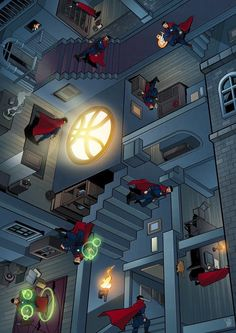 Dr. Strange. OH MY WORD I WAS THINKING OF IT LIKE AN ESCHER TOO
