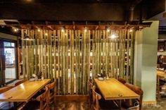 일본 술집 인테리어/ 이자카야 창업 그린 포인트 색상의 현지 느낌일본 술집인테리어이자카야인테리어에요 ...