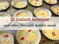 Honestly the BEST freezer meal blog I have seen. Easy and yummy ideas. Freezable Meals + toddler meals