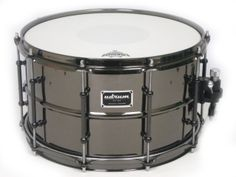 U DRUM Brass snare. Black nickel plate.