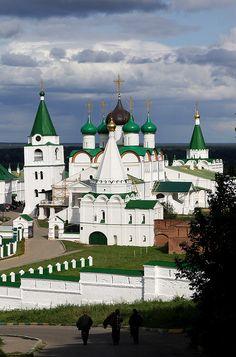The Pechorsky Monastery - Nizhny Novgorod, Russia